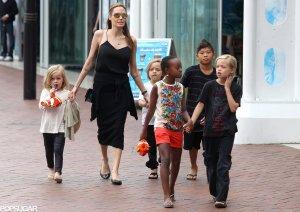 Angelina-Jolie-Her-Kids-Australia-Pictures