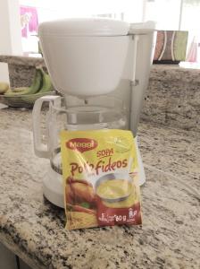 Hacer Sopa con Cafetera