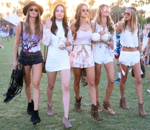 Coachella 2015 - Week 1 - Day 3 - Celebrity Sightings