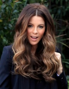 Kate-Beckinsale-light-brown-balayage-ombre-hair